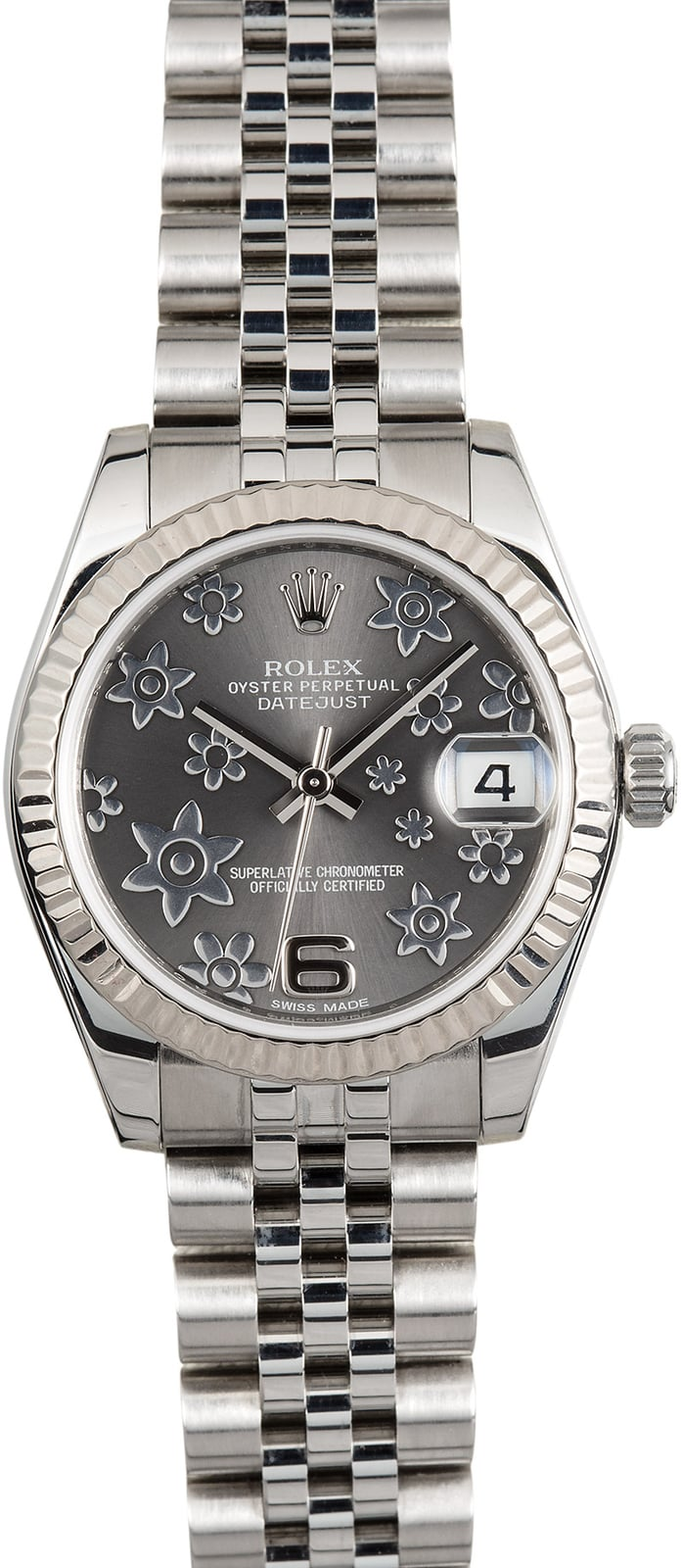 Rolex datejust 31 floral motif 178274 for Rolex date just 31