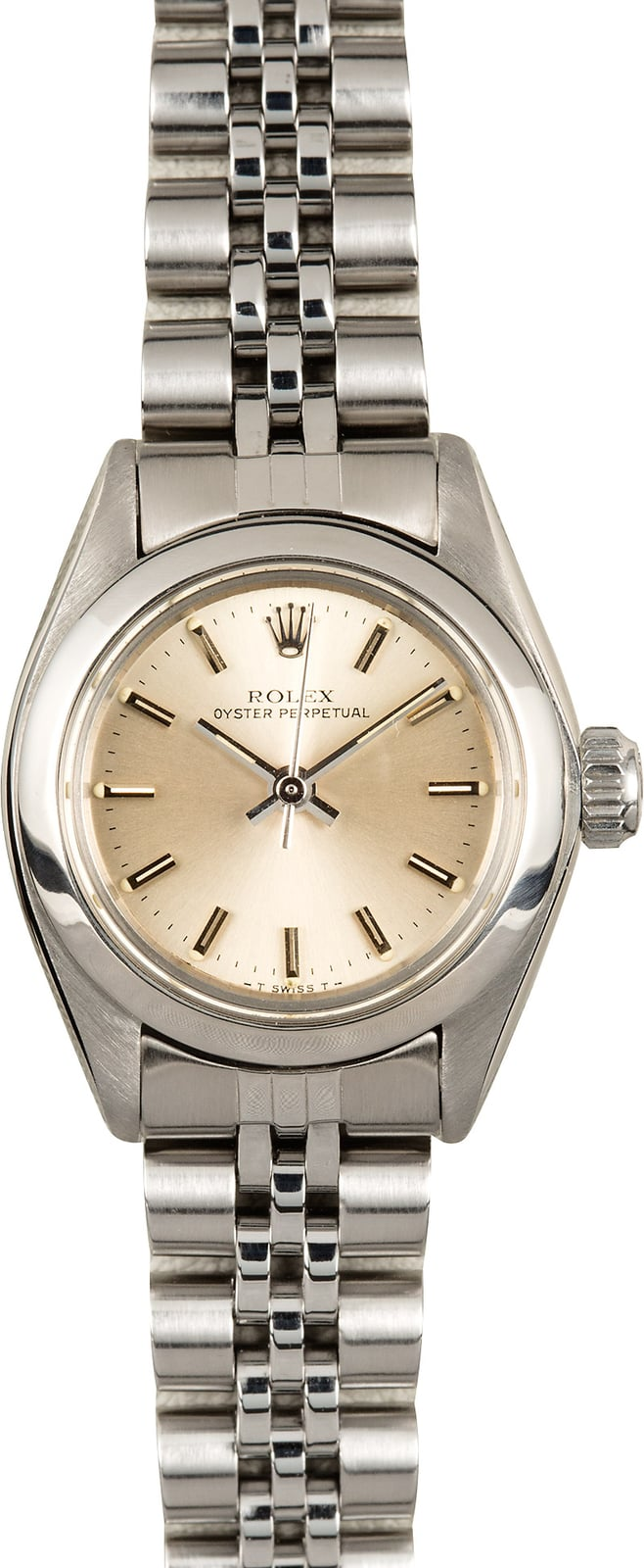 Bell And Ross Watch >> Rolex Ladies Oyster Perpetual 6718 Stainless Steel