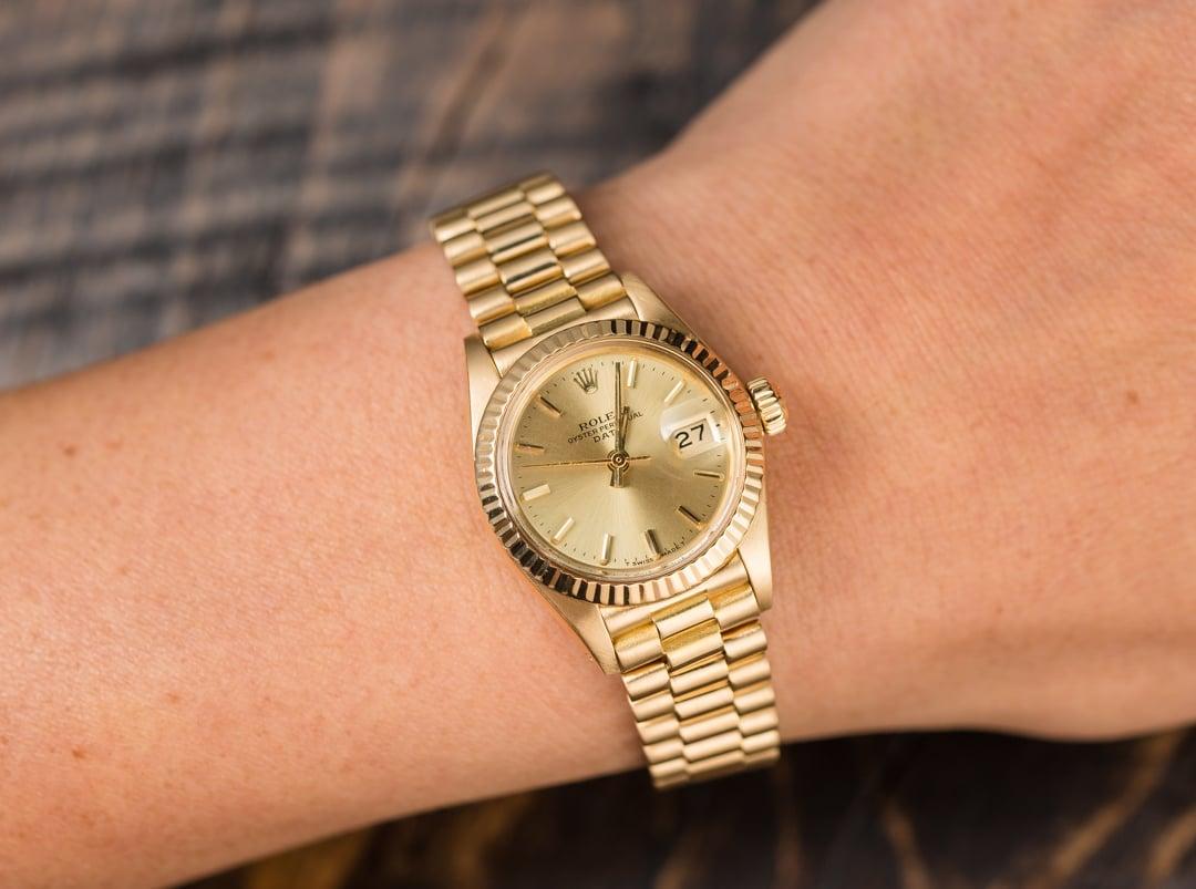Women S Rolex Presidential Vintage 6917