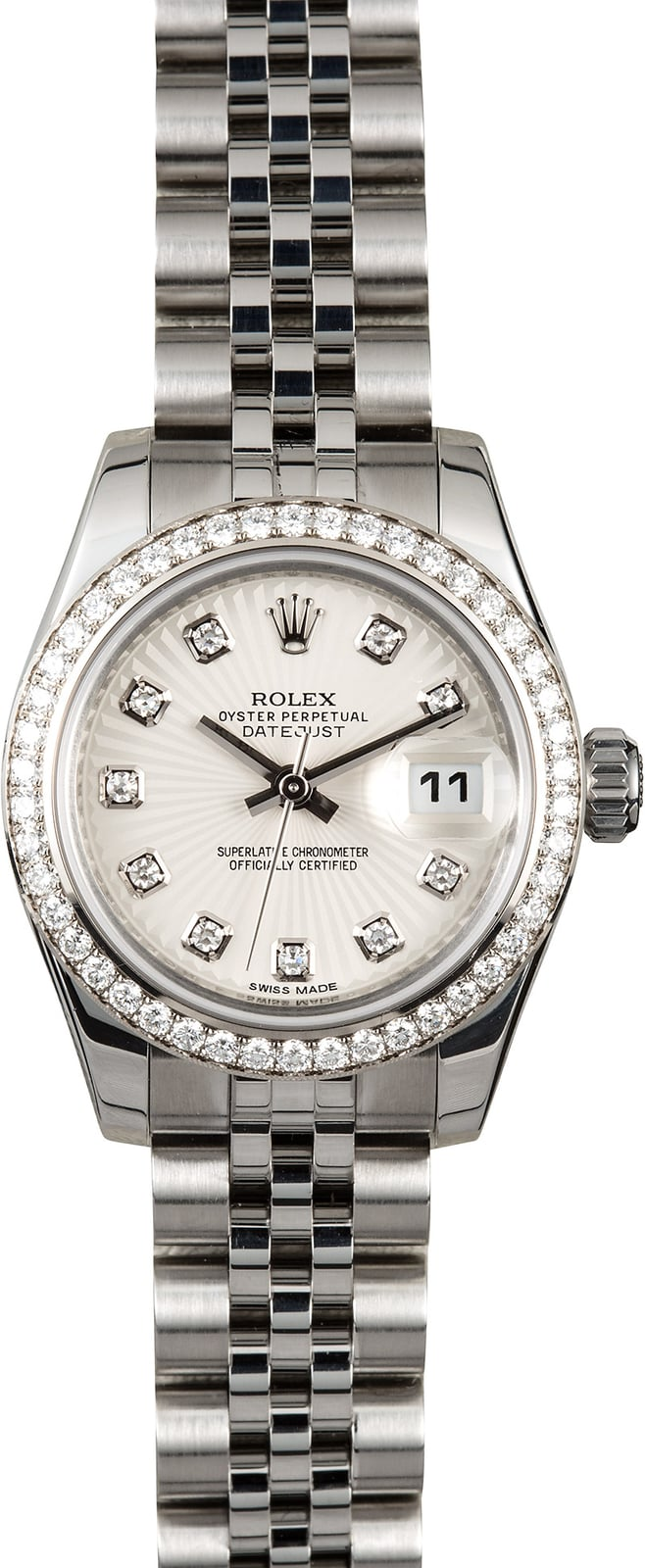 17b40c9132e7f Here are similar in stock watches you might like. Pre Owned Rolex Ladies  Datejust ...