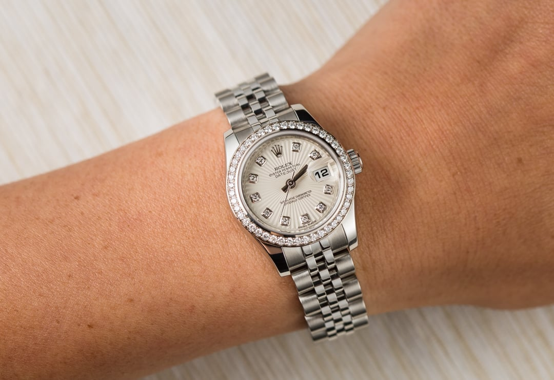0da7dca7cb0df Rolex Lady-Datejust 179384 Diamonds