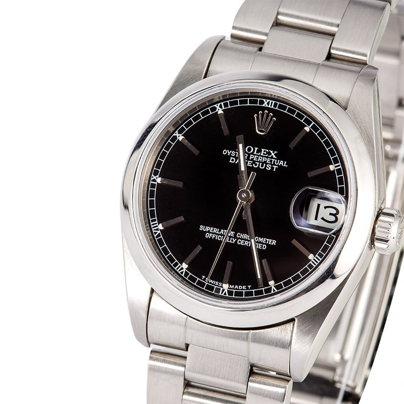 Rolex ladies datejust 31 68240 for Rolex date just 31