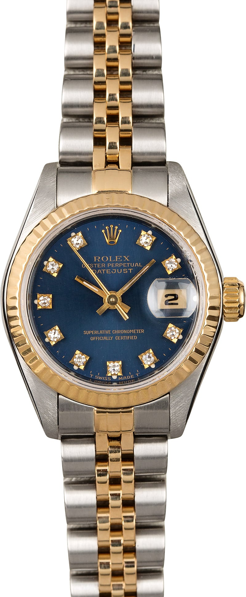 used ladies rolex oyster perpetual datejust model 69173 save up to 50 at bob 39 s on 100 rolex. Black Bedroom Furniture Sets. Home Design Ideas