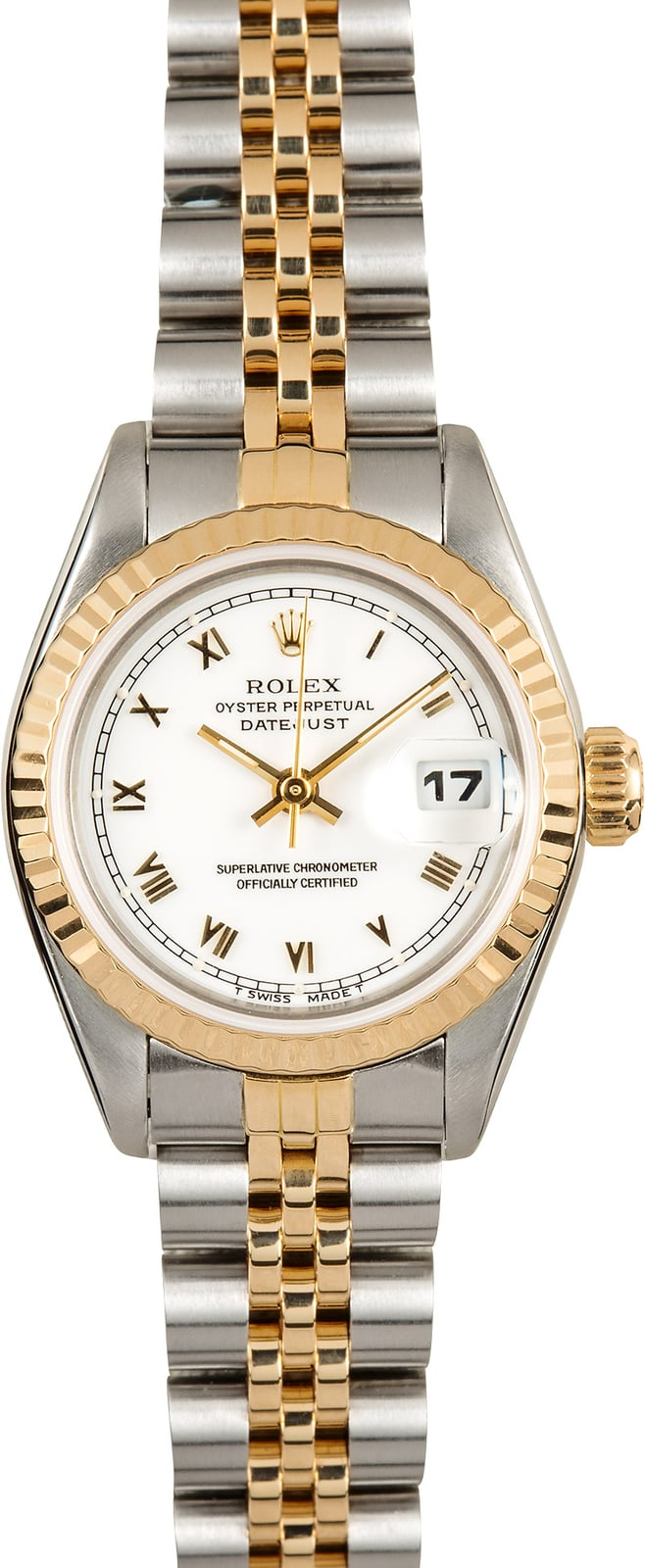 rolex ladies oyster perpetual datejust 69173. Black Bedroom Furniture Sets. Home Design Ideas
