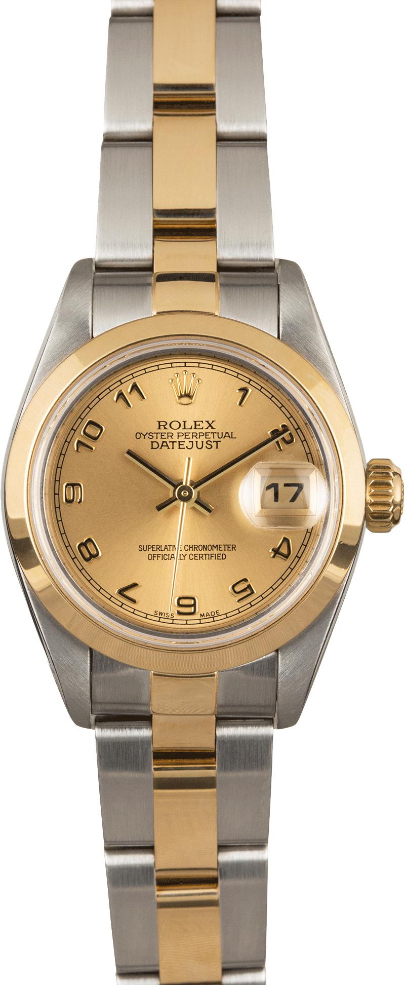rolex lady datejust 79163 champagne arabic dial. Black Bedroom Furniture Sets. Home Design Ideas