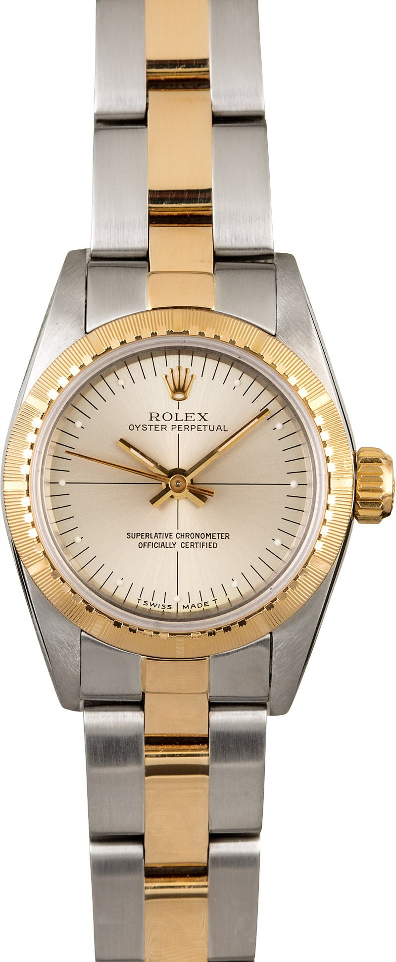 rolex ladies oyster perpetual 67243. Black Bedroom Furniture Sets. Home Design Ideas