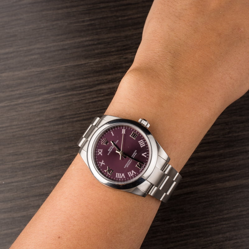 Purple Rolex Watches