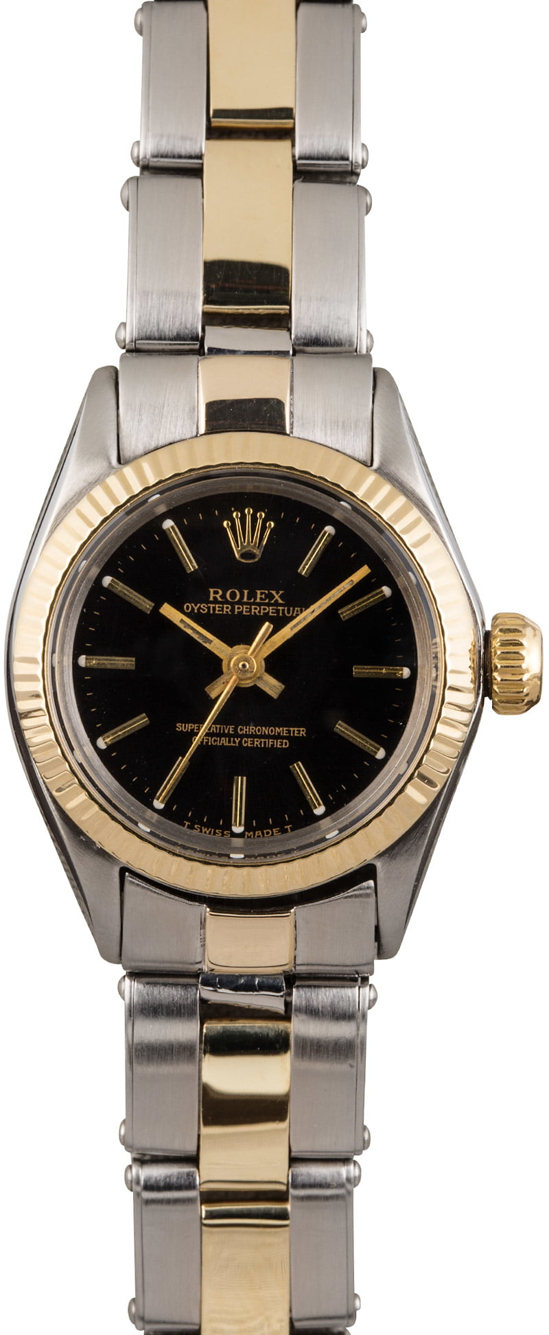 Buy vintage rolex lady oyster perpetual 6618 bob 39 s watches sku 123885 for Vintage rolex oyster