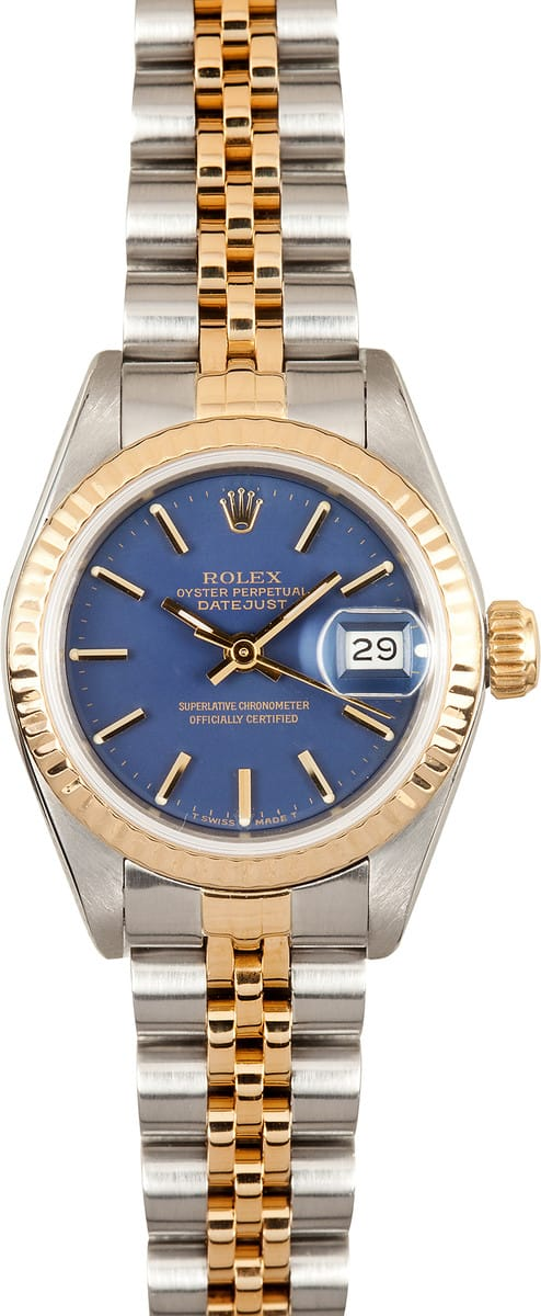 Used Rolex Submariner >> Ladies Used Rolex Oyster Perpetual Datejust 69173
