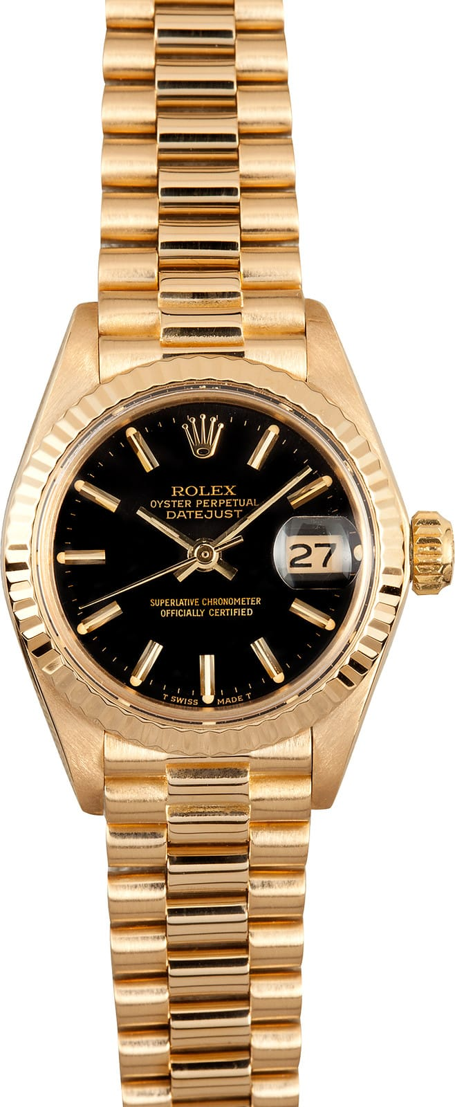 Used Rolex Daytona >> Lady Rolex Datejust 6917 Black Dial - Bob's Used Rolex Watches