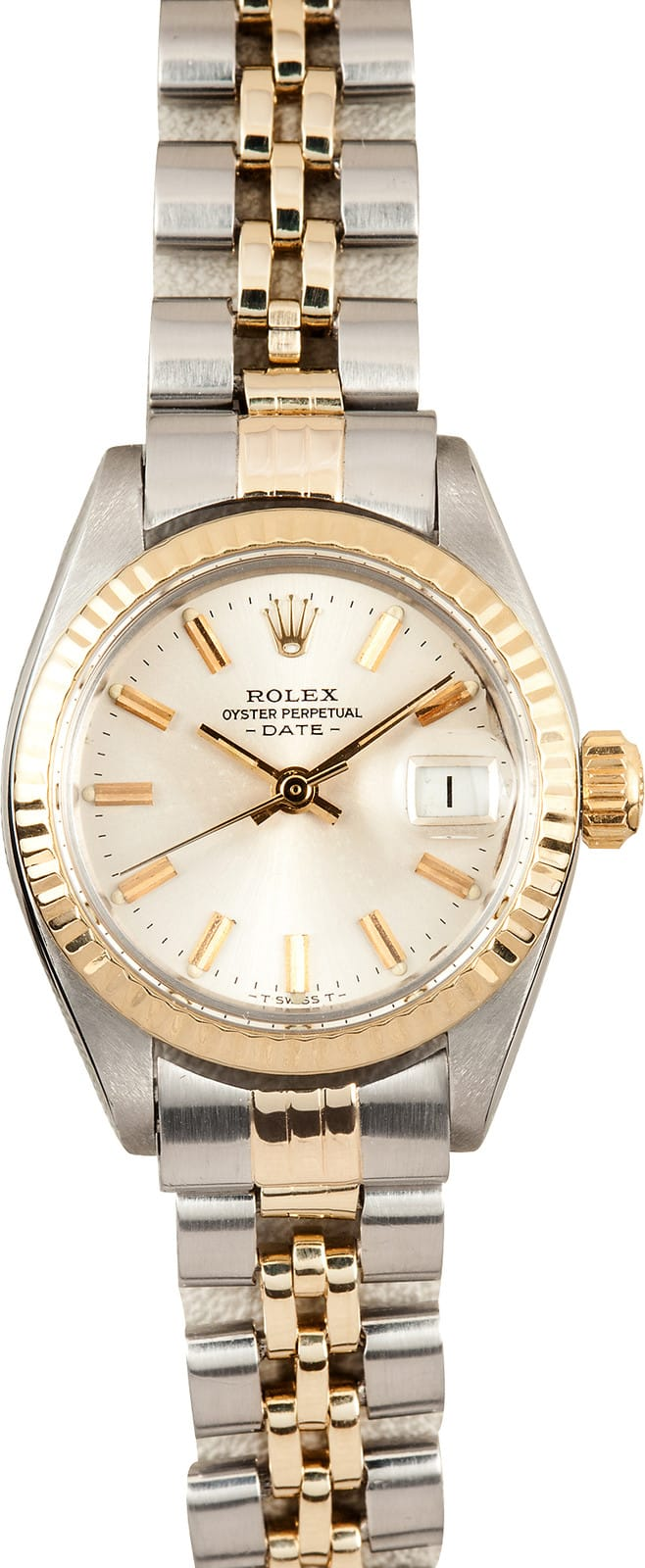 Certified Pre Owned >> Ladies Rolex Date Oyster Perpetual Steel 6917 - 100% Authentic