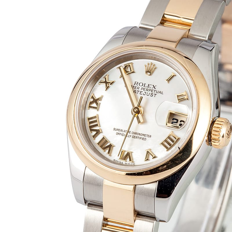 rolex pre owned datejust 179163