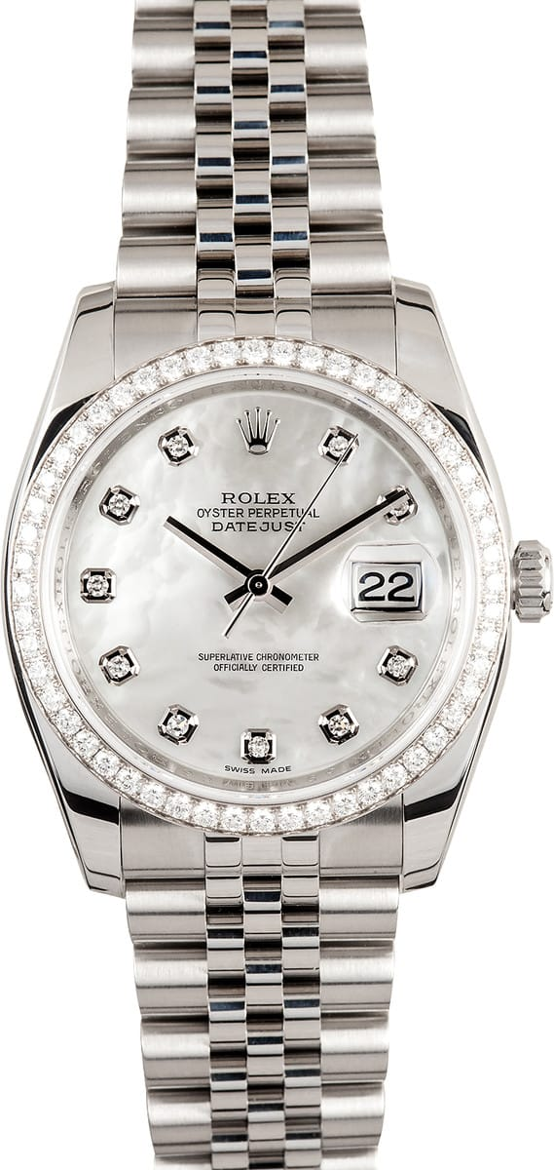 Rolex All Diamond Watch