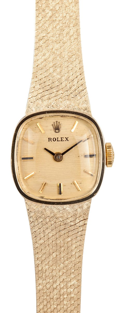 Used Rolex Submariner >> Lady Rolex Gold Cocktail Watch - Bob's Watches