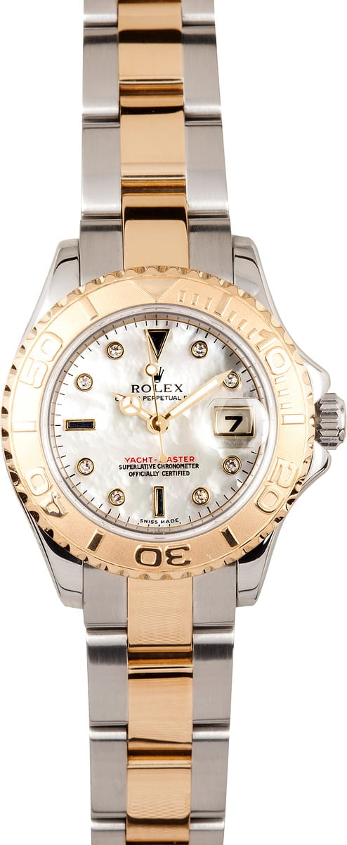 Certified Pre Owned >> Ladies Rolex YachtMaster at Bob's Watches