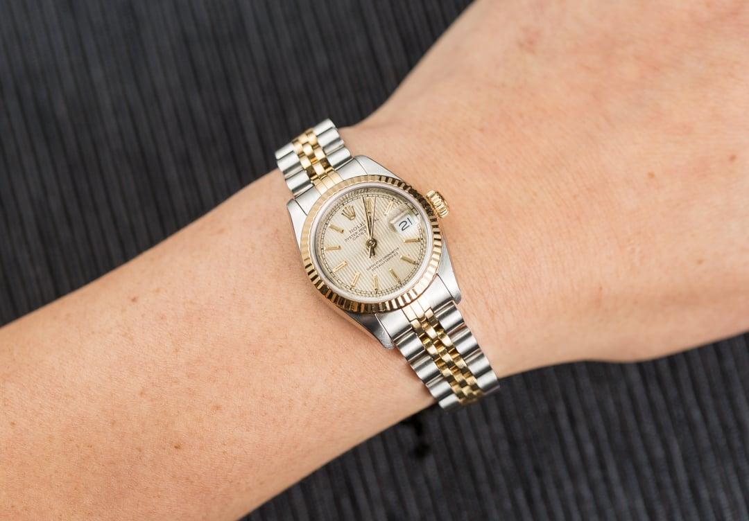 Rolex Lady,Datejust 69173 Jubilee Band