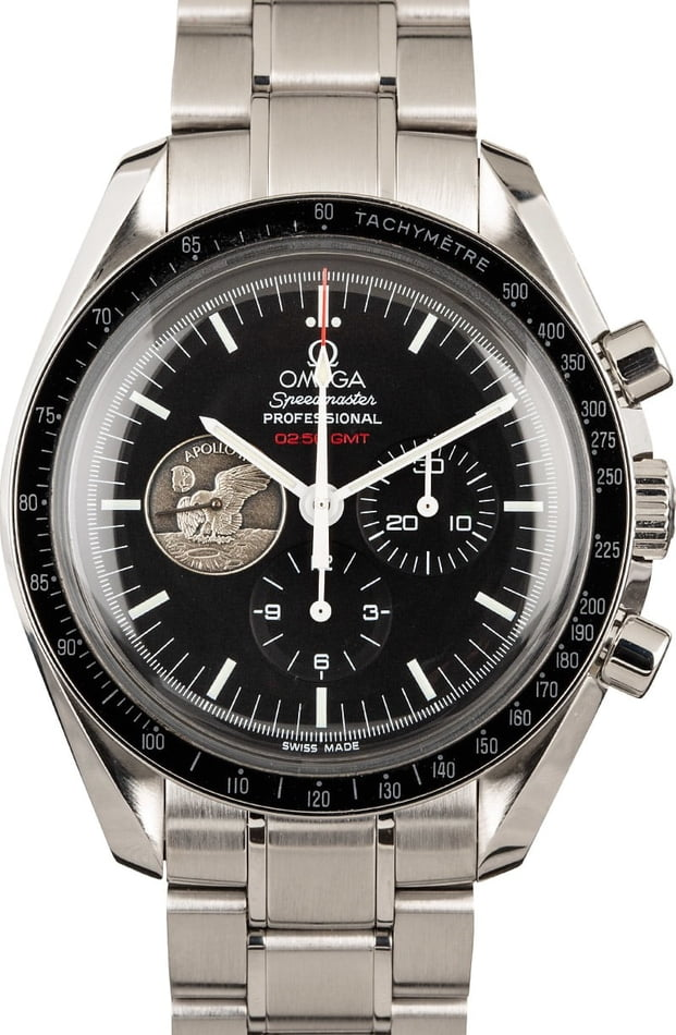 "Omega Speedmaster Professional ""Moonwatch"" 42MM Steel"