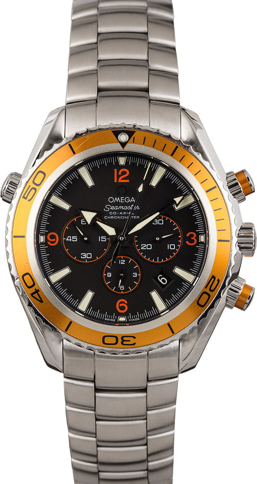 PreOwned Omega Seamaster Planet Ocean 600M Chronograph