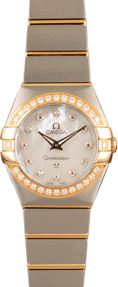 Omega Constellation Steel & Gold Model
