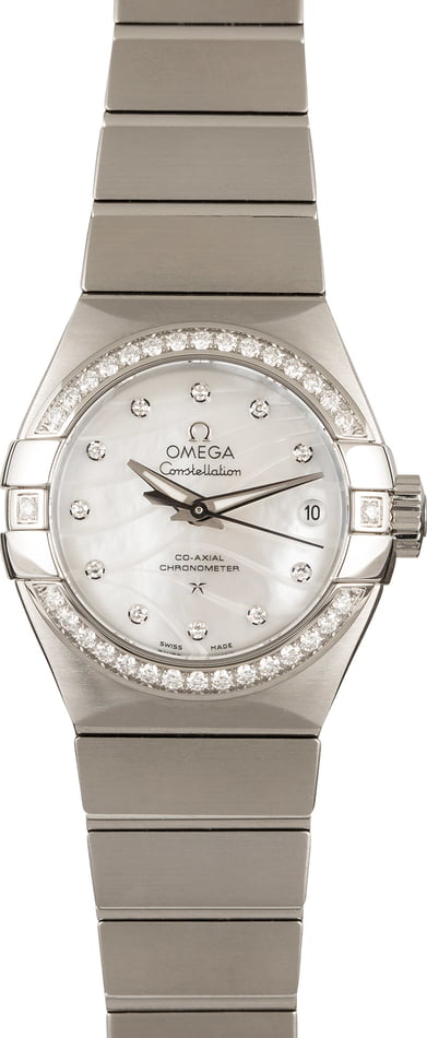 Omega Constellation Co-Axial Steel