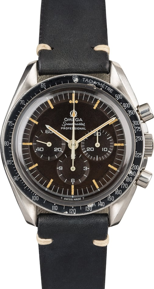 Vintage 1970 Omega Speedmaster 145.022 with Tropical Dial