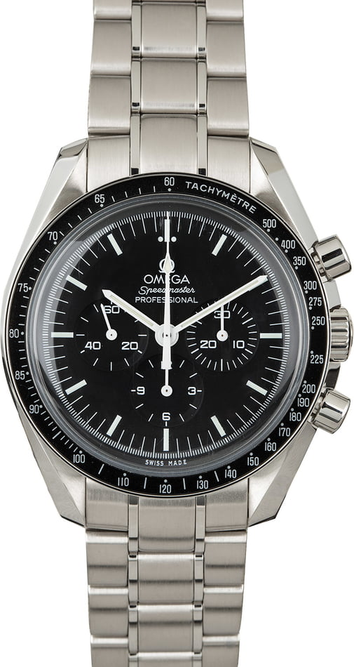 Used Omega Speedmaster Moonwatch Professional Chronograph 42MM