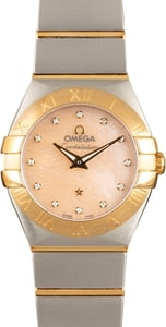 Omega Constellation Mother of Pearl Dial