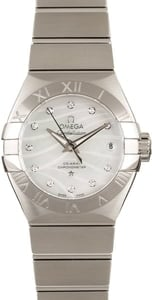 Omega Constellation Steel Co-Axial