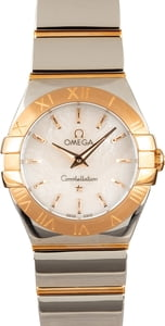 Omega Constellation Red Gold & Stainless Steel