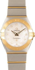 Omega Constellation Mother of Pearl Diamond Dial