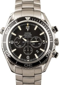 PreOwned Omega Steel Seamaster Planet Ocean 600M