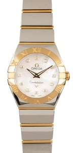 Omega Constellation Two Tone MOP