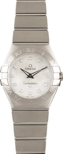 Omega Constellation White MOP
