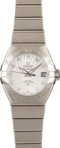 Omega Constellation Stainless Steel Diamonds