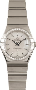 Omega Constellation Steel Diamonds