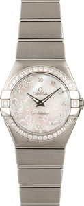 Omega Constellation Diamond Dial & Bezel