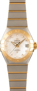 Omega Constellation Steel & Yellow Gold