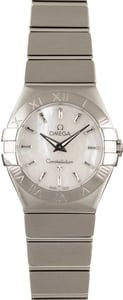 Omega Constellation Mother of Pearl