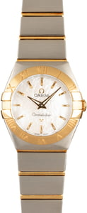 Omega Constellation White Mother of Pearl