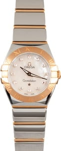 Omega Constellation Steel & 18k Red Gold