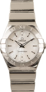 Omega Constellation Steel Quartz 27MM