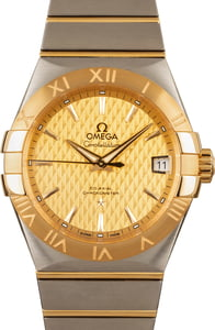 Omega Constellation Yellow Gold & Steel