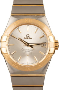 Omega Constellation Gold & Steel
