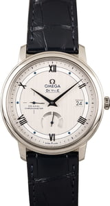 New Omega De Ville Stainless Steel Silver Dial