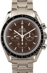Omega Speedmaster Moonwatch Professional Chronograph Brown
