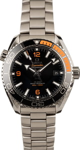 Omega Seamaster Planet Ocean 600M Black & Orange