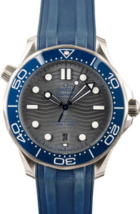 Omega Seamaster Stainless Steel