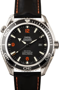 Omega Seamaster Planet Ocean Black & Orange