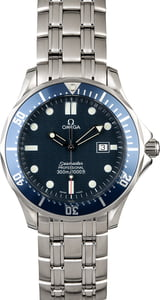 Omega Seamaster Pro 300M Blue Wave Dial