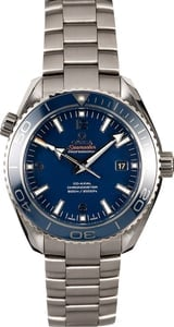 Omega Seamaster Planet Ocean 600M Co-Axial GMTOmega Seamaster Planet Ocean 600M Titanium